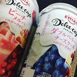 ※冷蔵庫が空っぽ💦頂き物で#朝ごはん 🥤..こうゆう甘いジュースあんまり飲む機会なくて久々に飲みました🤗..#ドルチェカフェ 名前からして美味しそう🙌今…のInstagram画像