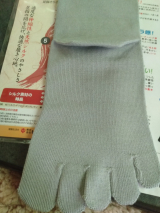 □当選『履きやすいシルク5本ソックス』の画像(3枚目)