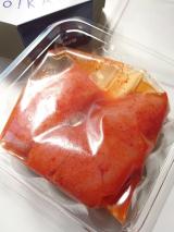 「昆布漬辛子めんたいのかば田『無着色辛子めんたい(きれ子)限定パッケージ』食べてみました」の画像(5枚目)