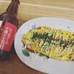 今日の昼ごはん⭐️ 鎌田醤油のかつおだしの中濃ソースを使って、とん平焼き😳このソースは、かつおだしが入ってるから香りも良いし旨味が凄いある🍀色んな料理に合うから野菜炒めや揚げ物にも。…のInstagram画像