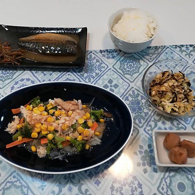 口コミ投稿:昨日の夕飯頂いた梅干しを添えてみました🤗私、梅干し大好きなの♥️小学生のとき親が塩…