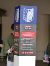 「【USJ】進撃&ゴジラ&エヴァ&セーラーグッズに大行列!&551出来立て最高☆」の画像(7枚目)