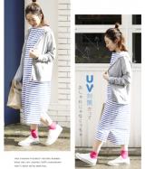 イーザッカマニアストアーズ 着るだけUV対策パーカー M~3L 色柄選べる プチプラコーデ 春夏の画像(3枚目)