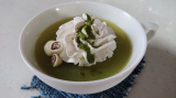 新茶の季節に抹茶味がおいしい♪濃いグリーンティー@玉露園の画像(5枚目)