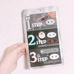 _🐽こういうパックで2ステップはよくあるのですが、3ステップというのがさすが韓国ブランド。他には無い発想で面白かったです❗️角栓パックは剥がした後の毛穴の開きが気になっていたので引き締めパック…のInstagram画像