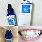 ホワイティプロ✨ホワイトニング液30mlです。 3ステップで歯の美白効果! 毎日使い続けてます。歯の着色汚れが少し白くなってきたような気がします😄歯の表面はすごくつるつるになります。#ホワ…のInstagram画像