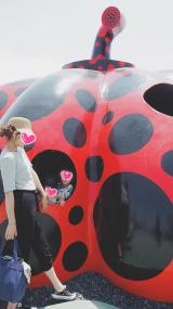 「♡GU1000円コーデでアートの島!直島に上陸してみた(^。^)!」の画像(1枚目)
