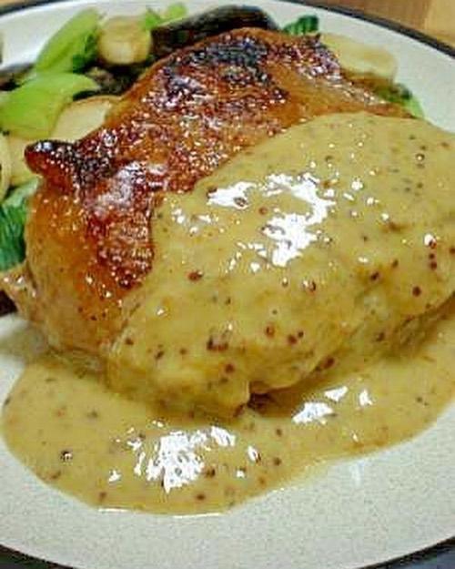 口コミ投稿:鶏肉のハニーマスタードソースかけ!#はちみつ #メヴェダハニー #生はちみつ #北欧は…