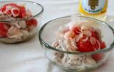 カンタン酢1本で・・トマトとらっきょうの豚しゃぶ和え♪の画像(3枚目)