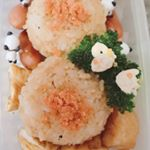 朝からインスタおかしくなかったですか?今日のお弁当は、かきしょうゆで作った焼きおにぎり#アサムラサキ #かき醤油 #焼おにぎり #monipla #asamurasaki_fan…のInstagram画像