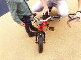 ペダルくるくるが難しい?娘、自転車の練習中!の画像(5枚目)