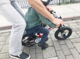 ペダルくるくるが難しい?娘、自転車の練習中!の画像(6枚目)