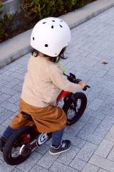 ペダルくるくるが難しい?娘、自転車の練習中!の画像(9枚目)