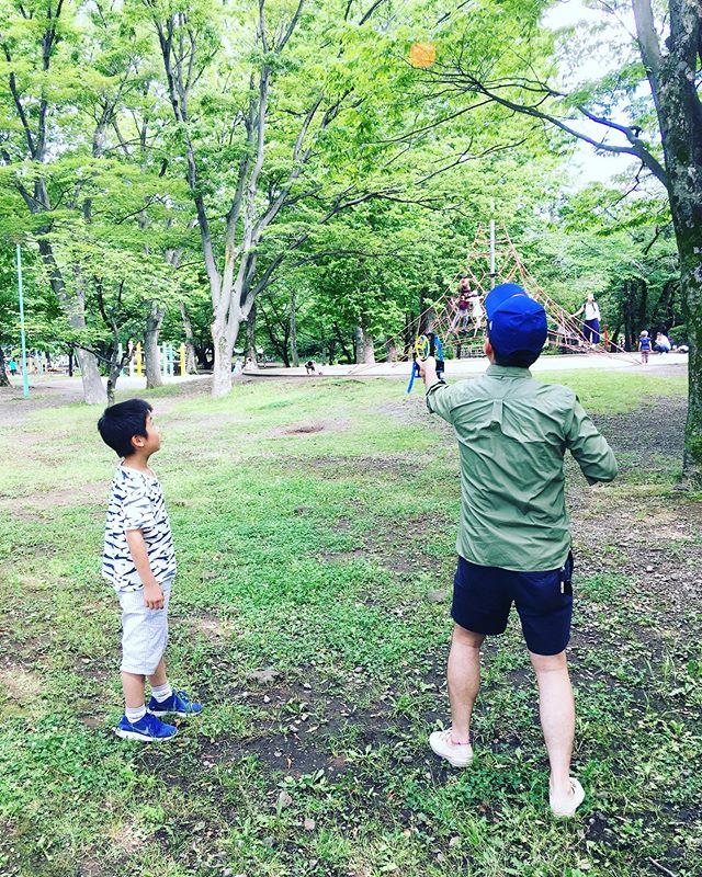 口コミ投稿:父の日はサッカーがお休みだったので、久しぶりに公園でたっぷり遊んで汗をかいてき…