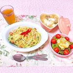 ♡ 今日の夜ごはん ♡ ㅤㅤㅤㅤㅤㅤㅤㅤㅤㅤㅤㅤㅤㅤㅤㅤㅤㅤㅤ❁ペペロンチーノ❁卵としめじの中華スープ❁サラダㅤㅤㅤㅤㅤㅤㅤㅤㅤㅤㅤㅤㅤㅤㅤㅤㅤㅤㅤㅤㅤㅤㅤㅤㅤㅤㅤ…のInstagram画像