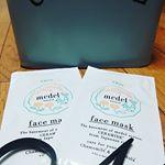 ..メデル ナチュラル フェイスローションマスク<薬用美白>透明肌に導く薬用美白フェイスマスク🤗国産米セラミドと肌荒れやメラニンの…のInstagram画像