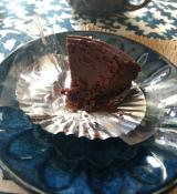 """「ケーキに何を求めるか。やっぱり""""癒し""""かなぁ。ヴィーガンケーキ「リッチガトー・オ・ショコラ」」の画像(6枚目)"""