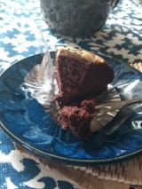 """「ケーキに何を求めるか。やっぱり""""癒し""""かなぁ。ヴィーガンケーキ「リッチガトー・オ・ショコラ」」の画像(5枚目)"""