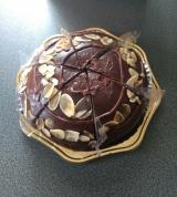 """「ケーキに何を求めるか。やっぱり""""癒し""""かなぁ。ヴィーガンケーキ「リッチガトー・オ・ショコラ」」の画像(4枚目)"""
