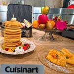 *・*・*・*・*・.Cuisinartマルチグルメプレート体験会へ Let' Go 💃.マルチグルメプレート☝️いわゆる「グリラー」焼きに特化した食材を挟んで焼くスタイル…のInstagram画像