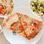 ピザにひとたらしで風味がグッとアップ!#GOYA #オリーブオイルのある暮らし #エキストラバージンオリーブオイル #monipla #goyaoliveoil_fanのInstagram画像