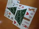 ◎幼児でも簡単にペタペタ貼って飾り付け。家族みんなでクリスマス楽しもう!◎/miRaiさんの投稿