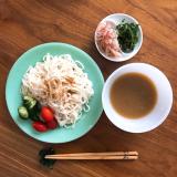 正田醤油株式会社  麺でおいしい食卓シリーズ 冷汁うどんつゆ 簡単らんち♪の画像(6枚目)
