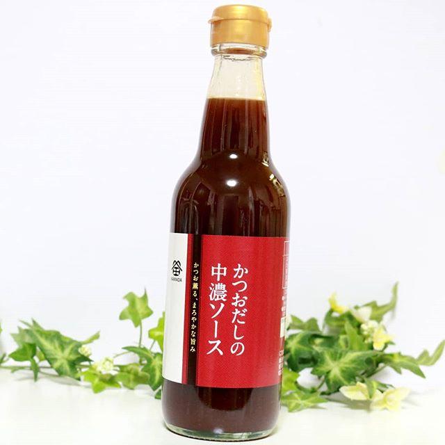 口コミ投稿:鎌田商事から、かつおだしの中濃ソースが届きました♥.かつお節粉末や煮干いわし粉末…