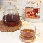 気になった発酵緑茶(^^)お味はプーアル茶のようなルイボスのような味で緑茶感はありませんでした!発酵やしクセあるのかな?と思ったけどクセなく飲みやすく美味しかったです(o^^o)毎日飲むこ…のInstagram画像