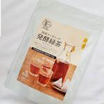 国産オーガニック発酵緑茶!・緑茶だけど色はむぎ茶やほうじ茶に似ています。・香りも緑茶とは違い漢方みたいな感じの香り♪・まったくクセがないと言うわけではありませんが、子どもたちも…のInstagram画像