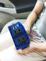 「ドライブのおともに【300Wパワーインバーター】災害時にも」の画像(5枚目)