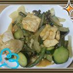モニプラファンブログのモニター当選!夏野菜をふんだんに使いカレーとヨーグルトの風味でご飯が進みました!#下味冷凍 #正田醤油 #冷凍ストック名人 #monipla #shoda_fanのInstagram画像