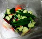 【モニター】浅漬けのもと de 夏野菜丼ぶり♪の画像(5枚目)