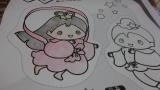 「【七夕デザイン】ぬりえマグネット3枚セット」の画像(4枚目)