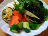 【モニター】浅漬けのもと de 夏野菜丼ぶり♪の画像(1枚目)