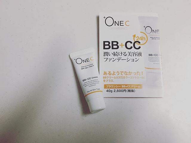 口コミ投稿:*+OneC(プラワンシー) BB+CCクリーム(ファンデーション)ミニサイズ 8gをモニタ…
