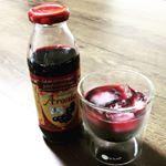 #aroniada #monipla #nakagaki_fan有機アロニア100%果汁飲んでみました☺ポリフェノールとアントシアニンがブルベリーの5倍も!! しかも活性酸素を…のInstagram画像