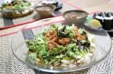 豚キムチのぶっかけソーメン 新生姜のべっこう煮の画像(1枚目)