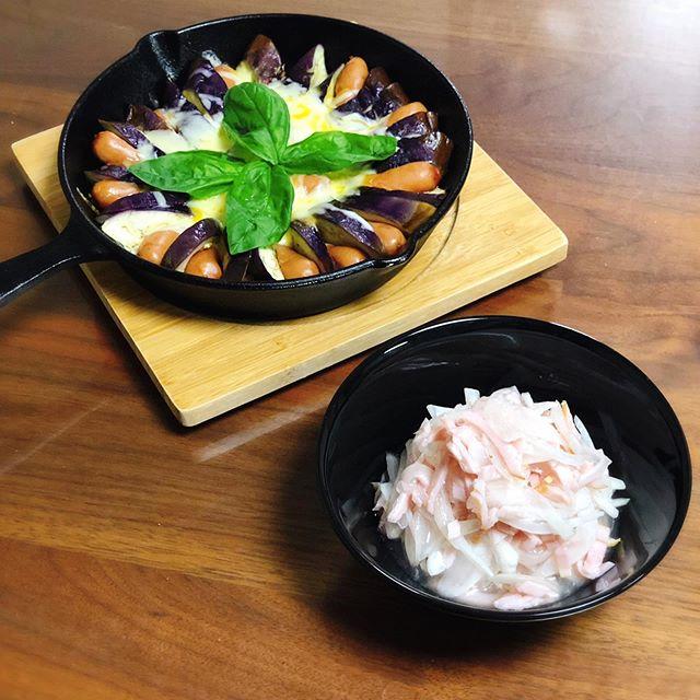 口コミ投稿:..大山ハムさんに頂いた熟成ロースハムあらびきポークウインナーを使って夕ご飯🍽.ど…