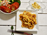 「爽やかな辛さ マルハニチロ汁なし担々刀削麺」の画像(1枚目)