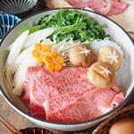 ・Kobe beef with sukiyaki・・こんばんは・・韓国🇰🇷行ってる間お留守番ありがとう私からの、ご褒美メニュー・・最高級の逸品「特選ロー…のInstagram画像