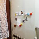 家族の写真を缶バッチにしてみました。大きいサイズなので、磁石が強力でいい感じ。#みんなのバッジ #缶バッジ #缶バッジ作り #マグネット #DIY #monipla #cms_fanのInstagram画像