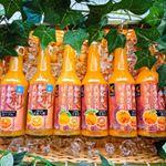 *・*・*・*・*・.キラキラの和歌山 中晩柑クラフトジュース見るからに美味しいのに間違いない☝️.中晩柑って🙄1月~5月ごろに収穫される温州みかん 以外の柑橘の総称で…のInstagram画像