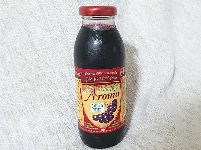 """口コミ投稿:""""サビない""""体作りのためにずっと飲みたいと思っていた✨アロニア果汁✨アロニアは、ロ…"""