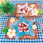 ..とある日の、おやつ🍴.🌼ヨーグルトバーク..@emial_azumino_official 様のバニラヨーグルトを使って ~夏休みのおやつレシピ~ を考えてみました🍨💕…のInstagram画像