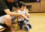 「一歳のお誕生日会はディーバイクミニで笑顔」の画像(4枚目)
