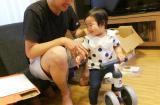 「一歳のお誕生日会はディーバイクミニで笑顔」の画像(7枚目)