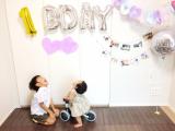 「一歳のお誕生日会はディーバイクミニで笑顔」の画像(2枚目)