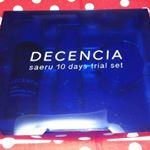 DECENCIA サエルセット涼し気な青のデザインで好みです。 ★サエル ホワイトニング ローション コンセントレート(医薬部外品) 20ml★さらさらの化粧水です。保湿効果が…のInstagram画像