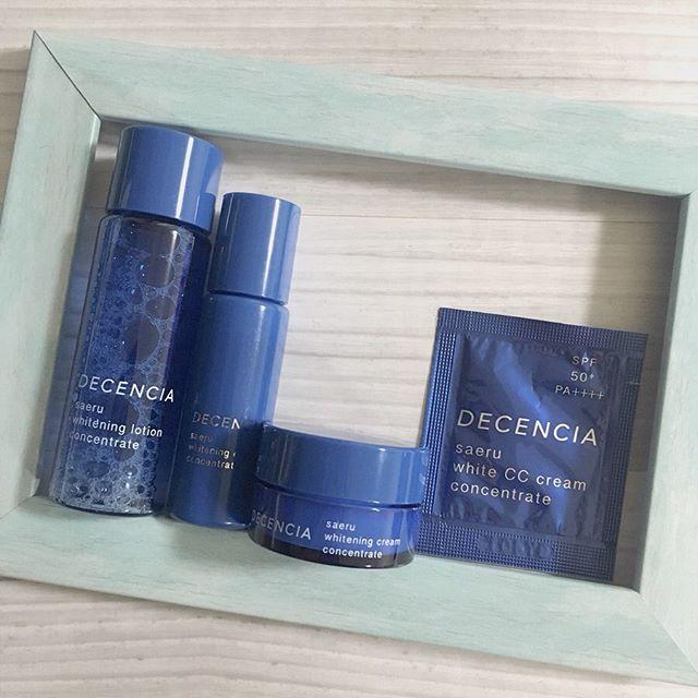 口コミ投稿:💙_敏感肌のための化粧品ブランド#ディセンシア (@decencia_official )の青の美白ケア…
